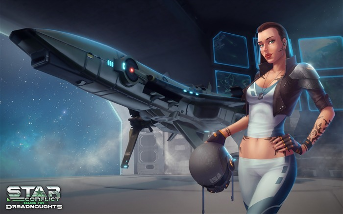 Tutorial Girl-Star Conflict Game HD Wallpaper Views:1167