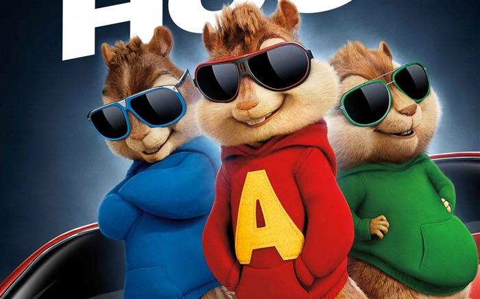 Alvin and the Chipmunks The Road Chip-2016 Movie High Quality Wallpaper Views:1809