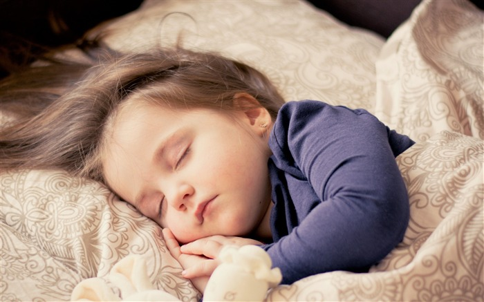 Child baby sleeping bed-High Quality HD Wallpaper Views:2246