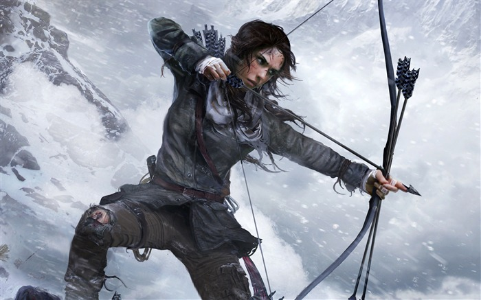 Lara Croft Rise Of The Tomb Raider-Game High Quality Wallpaper Views:2229