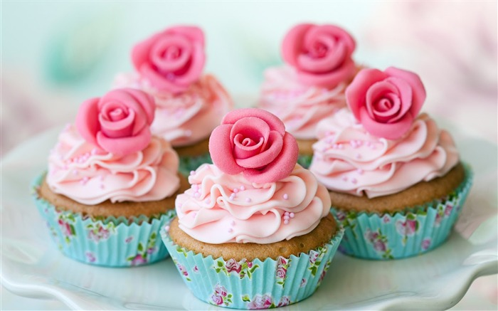 Sweet cupcakes food theme HD desktop wallpaper 09 Views:1362