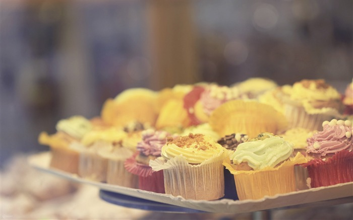 Sweet cupcakes food theme HD desktop wallpaper 10 Views:1259