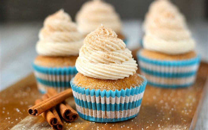 Sweet cupcakes food theme HD desktop wallpaper 12 Views:1314