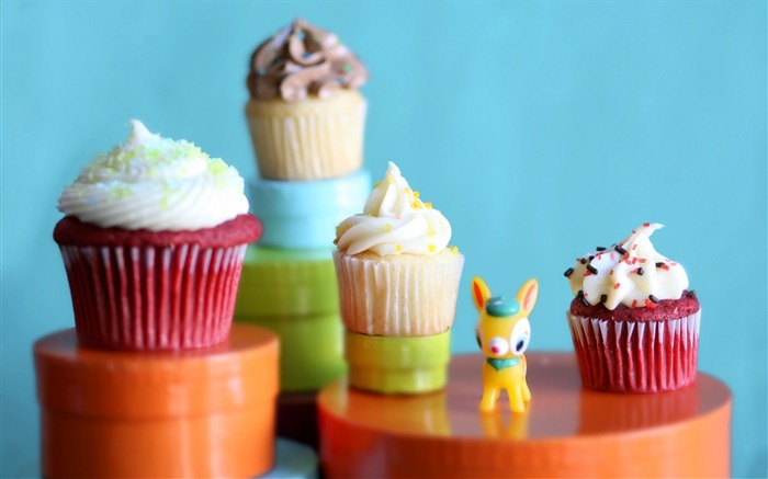Sweet cupcakes food theme HD desktop wallpaper 16 Views:791