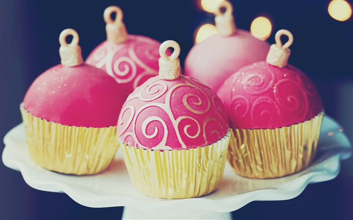 Sweet cupcakes food theme HD desktop wallpaper 18 Views:832