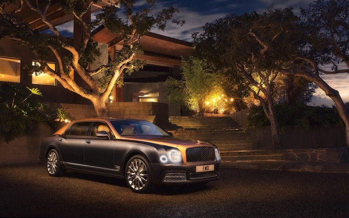 2016 Bentley Mulsanne Luxury Car HD Wallpaper Views:3595