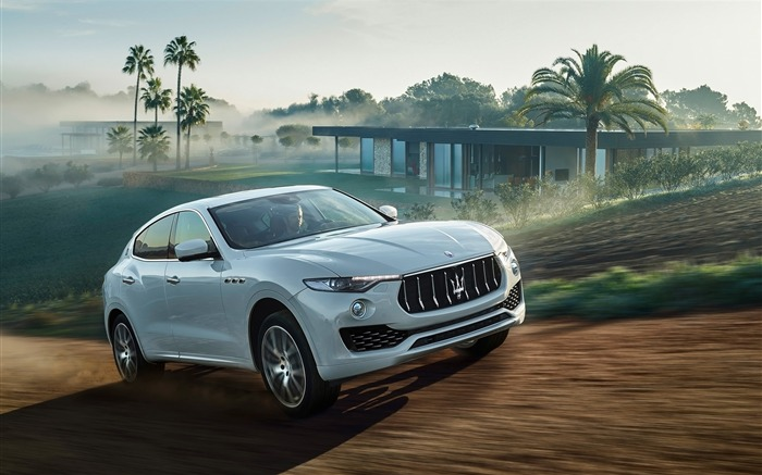 2016 Maserati Levante Luxury Car HD Wallpaper Views:4212