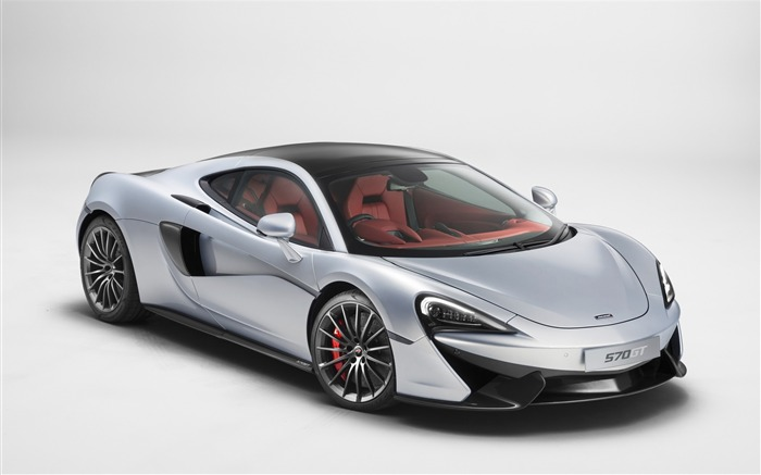 2016 McLaren 570GT Luxury Car HD Wallpaper Views:3817