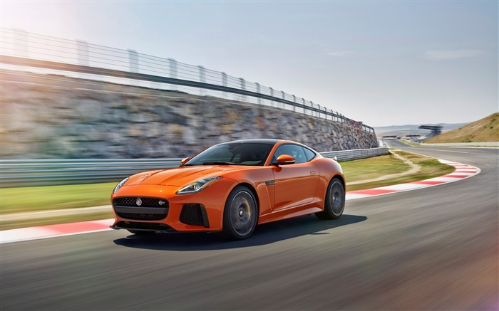 2017 Jaguar F-Type SVR Auto HD Desktop Wallpaper 02 Views:1414