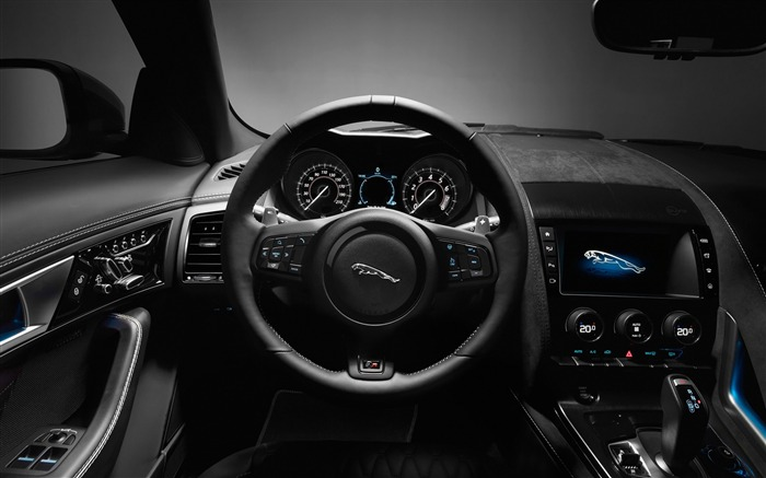 2017 Jaguar F-Type SVR Auto HD Desktop Wallpaper 10 Views:1426