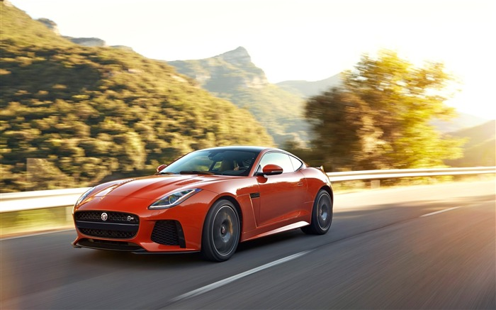 2017 Jaguar F-Type SVR Auto HD Desktop Wallpaper 17 Views:710