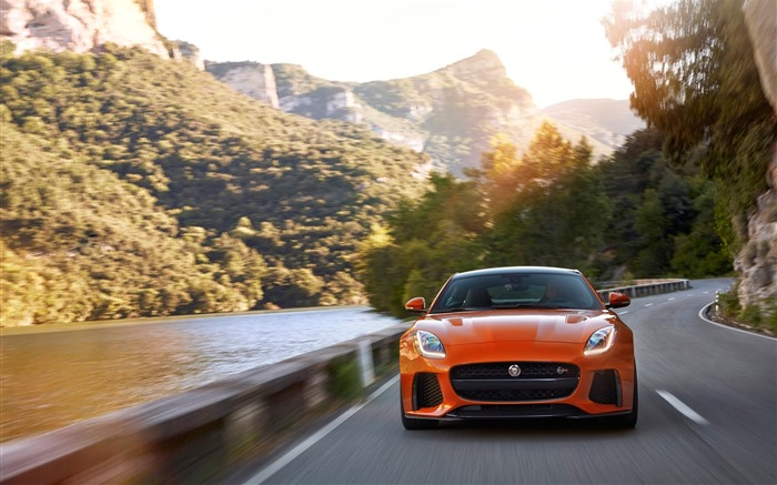 2017 Jaguar F-Type SVR Auto HD Desktop Wallpaper 18 Views:739