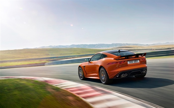 2017 Jaguar F-Type SVR Auto HD Desktop Wallpaper 21 Views:677