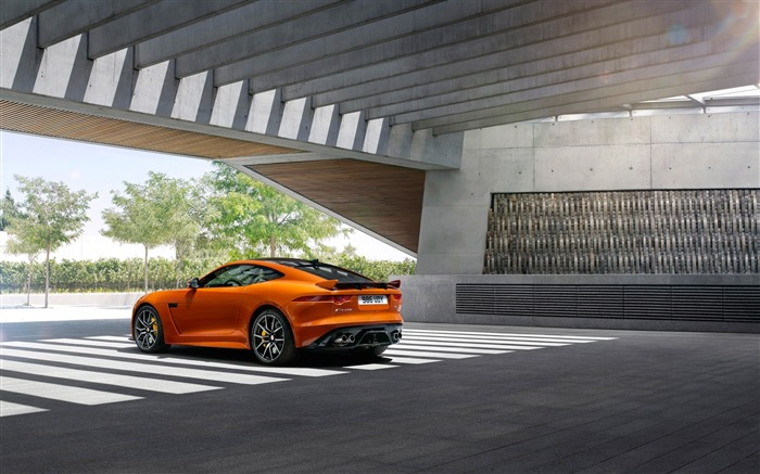 2017 Jaguar F-Type SVR Auto HD Desktop Wallpaper 24 Views:814