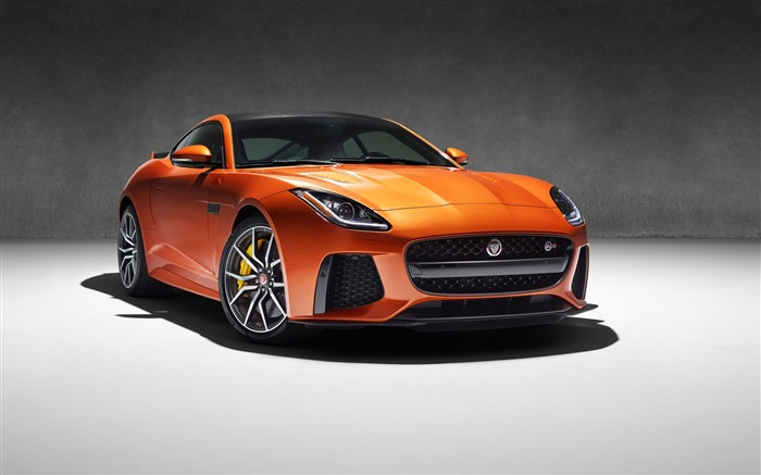 2017 Jaguar F-Type SVR Auto HD Desktop Wallpaper Views:1483