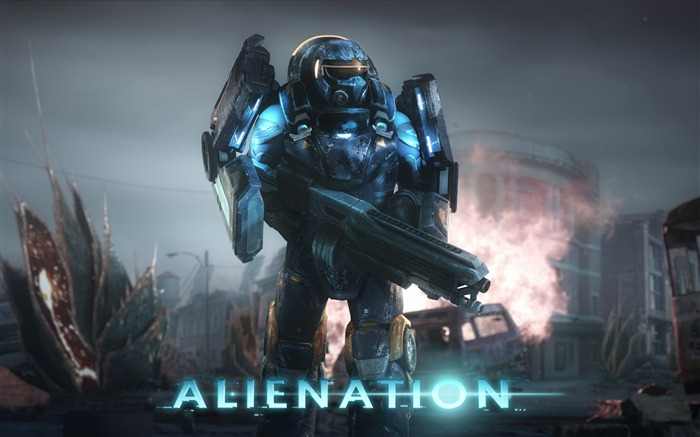 Alienation PS4-Game High Quality Wallpaper Views:1765