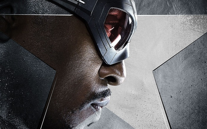 Anthony Mackie-Captain America 3 Civil War Wallpaper Views:1901