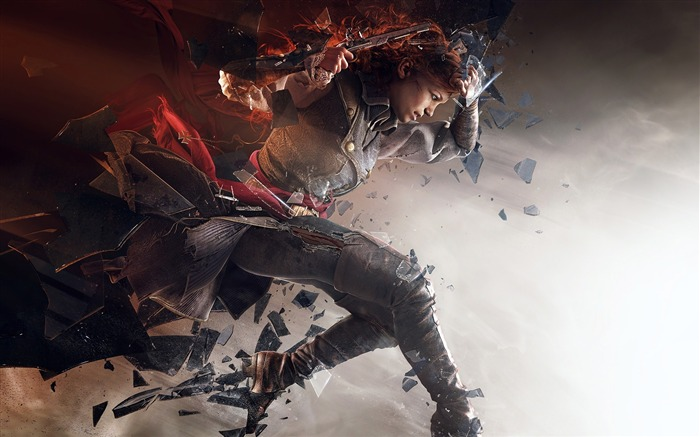 Assassins Creed Unity Elise-Game High Quality Wallpaper Views:1362