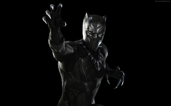 Black Panther-Captain America 3 Civil War Wallpaper Views:2763