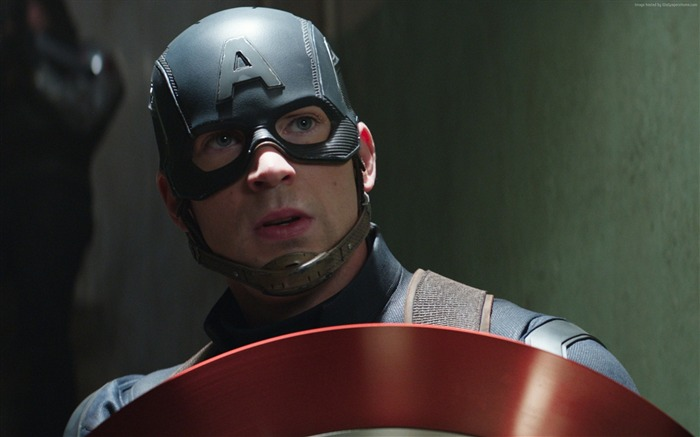 Chris Evans-Captain America 3 Civil War Wallpaper Views:2288