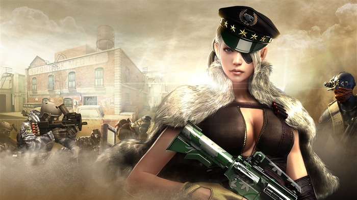 Crossfire arch calvary marshal-Game High Quality Wallpaper Views:1332