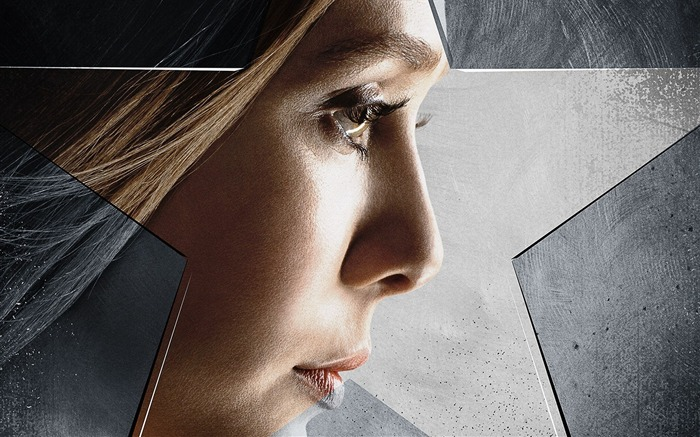 Elizabeth Olsen-Captain America 3 Civil War Wallpaper Views:2839