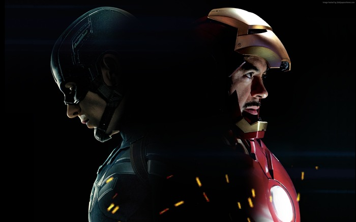 Iron Man-Captain America 3 Civil War Wallpaper Views:5196