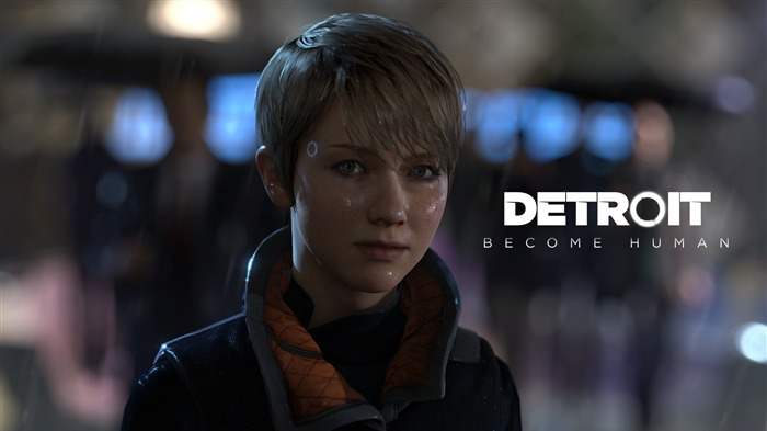 Kara detroit become human-Game High Quality Wallpaper Views:1085