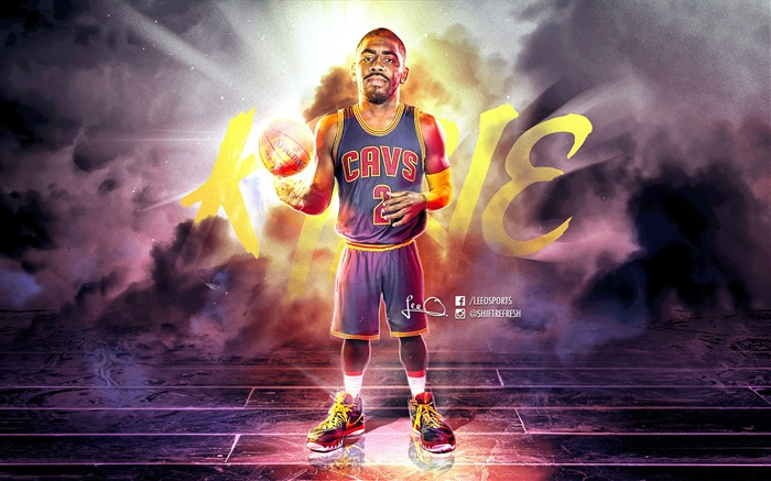 Kyrie Irving Cavaliers-2016 NBA Basketball HD Wallpapers Views:23221