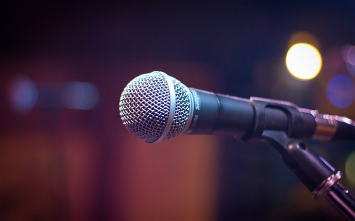 Microphone sound music-High Quality HD Wallpaper Views:1424