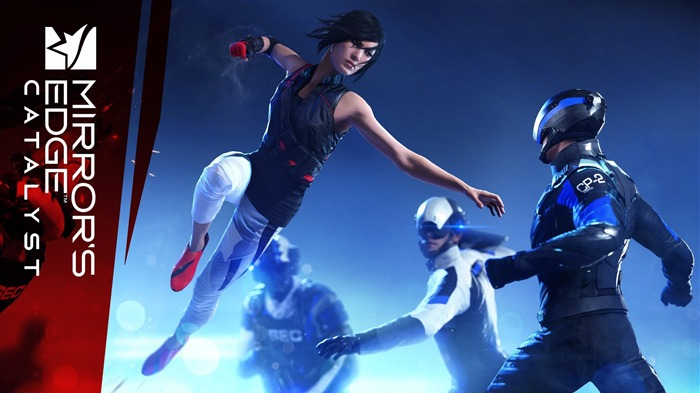 Mirrors edge catalyst faith fight-Game High Quality Wallpaper Views:988