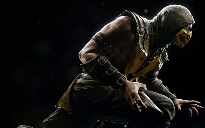 Scorpion mortal kombat-Game High Quality Wallpaper Views:1644