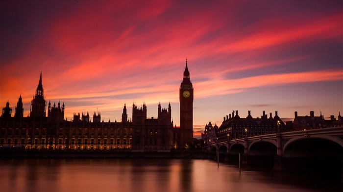 Westminster thames river london-High Quality Wallpaper Views:1289