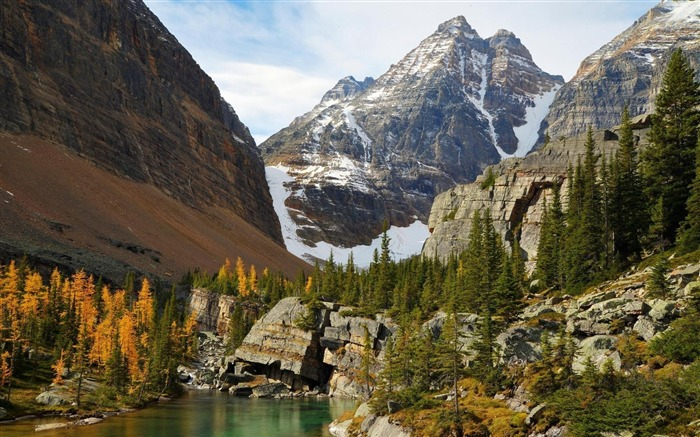 Yoho national park autumn-Nature photography HD wallpaper Views:1527