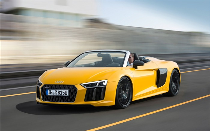 2017 Audi R8 Spyder V10 Auto HD Wallpaper Views:4609