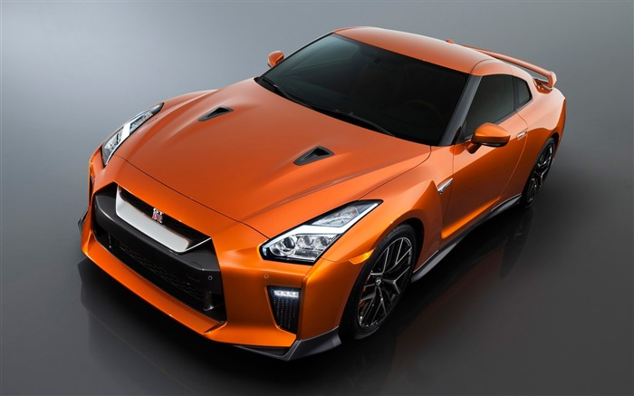 2017 Orange Nissan GTR Auto HD Wallpaper Views:6804
