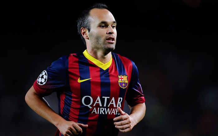 Andres Iniesta-2016 Football Star HD Wallpaper Views:2397