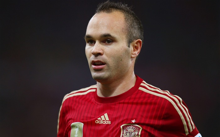 Andres Iniesta Spanish-2016 Football Star HD Wallpaper Views:1856