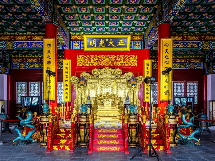 Chinese ancient architecture photo HD wallpaper 03 Views:1402