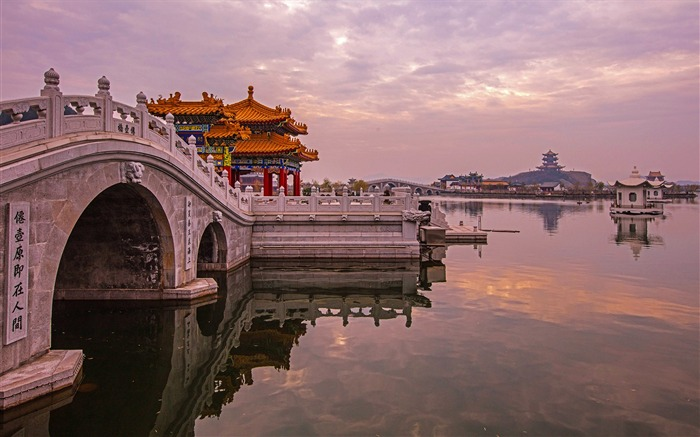 Chinese ancient architecture photo HD wallpaper 06 Views:1283