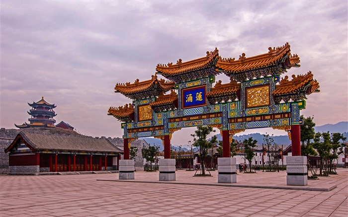 Chinese ancient architecture photo HD wallpaper 08 Views:1399