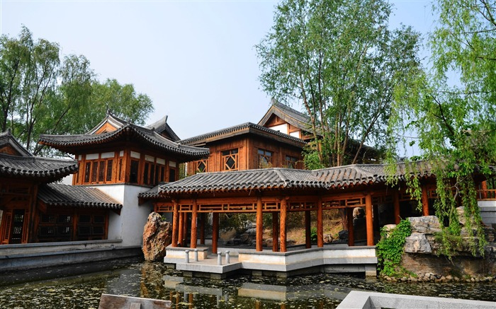 Chinese ancient architecture photo HD wallpaper 13 Views:1525