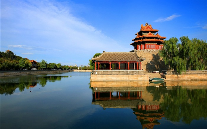 Chinese ancient architecture photography HD wallpaper Views:3408