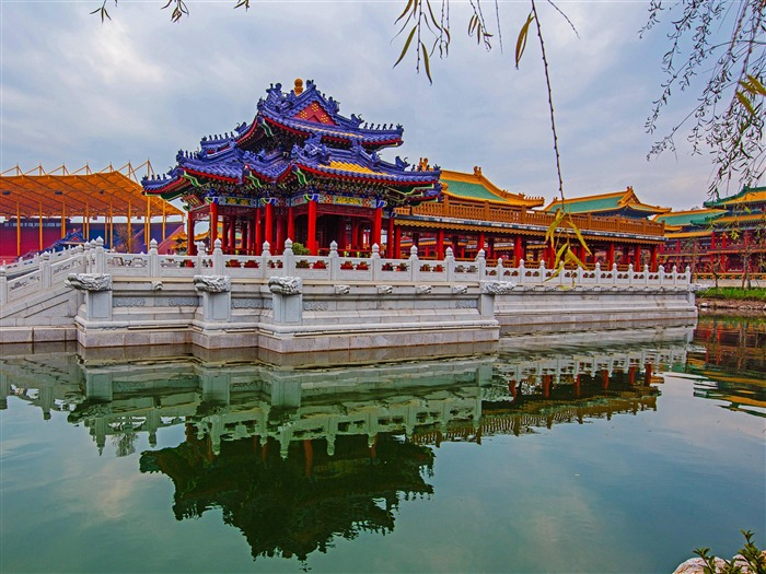 Chinese ancient architecture photo HD wallpaper 19 Views:1006