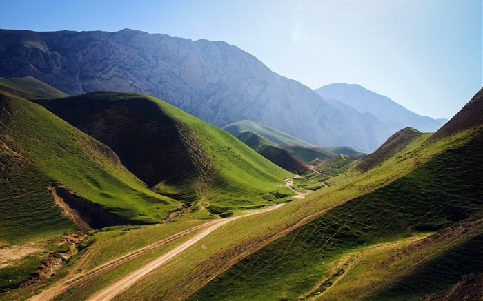 Green mountains afghanistan-Nature High Quality Wallpaper Views:2148