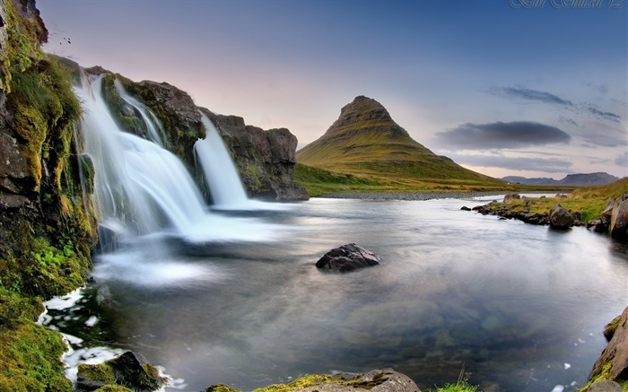 Iceland Travel nature scenery photo HD wallpaper 01 Views:1210