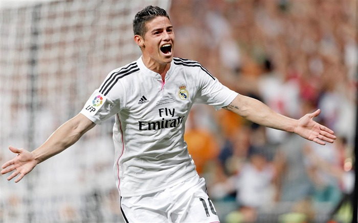 James Rodriguez-2016 Football Star HD Wallpaper Views:3107