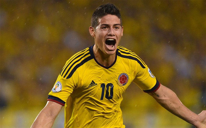 James Rodriguez-2016 Football Star HD Wallpapers Views:1917