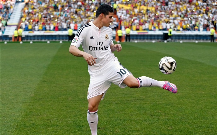 James Rodriguez Player-2016 Football Star HD Wallpaper Views:3175