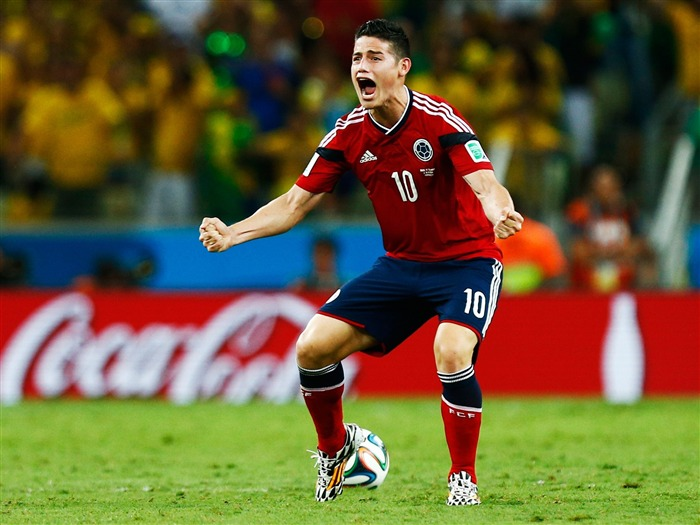 James Rodriguez Spanish-2016 Football Star HD Wallpaper Views:1607
